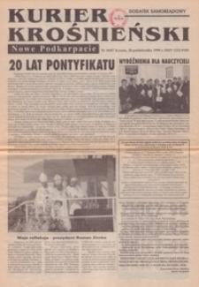 Kurier Krośnieński : Nowe Podkarpacie : dodatek samorządowy. - 1998, nr 10 (28 paźdz.) = 87