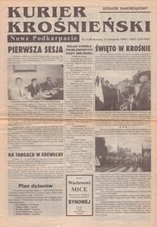 Kurier Krośnieński : Nowe Podkarpacie : dodatek samorządowy. - 1998, nr 11 (25 list.) = 88